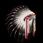 Индейский головной убор из перьев: часть I