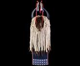 Новый индейский головной убор с рогами