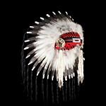 Индейский головной убор из перьев: часть II
