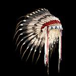 Индейский головной убор из перьев: часть III